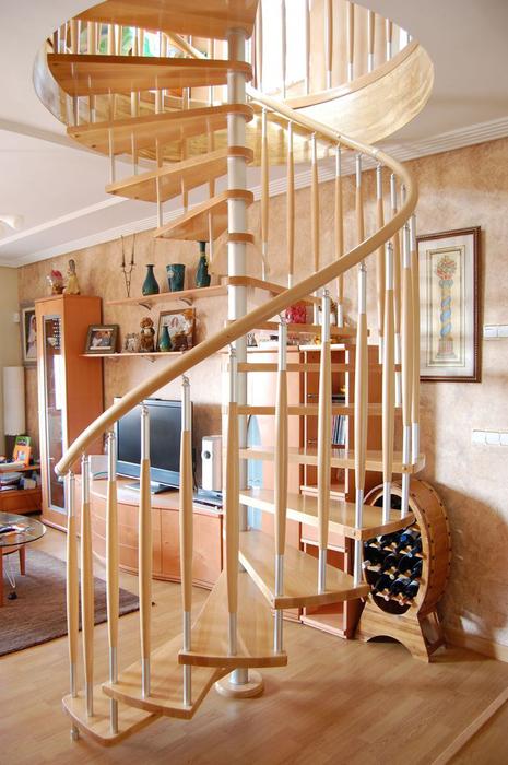 Modelos de escaleras de caracol para interiores escaleras - Modelos de escaleras de madera ...