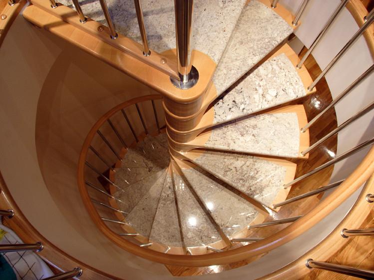 Escaleras de caracol en acero y acero inoxidable for Escaleras de caracol
