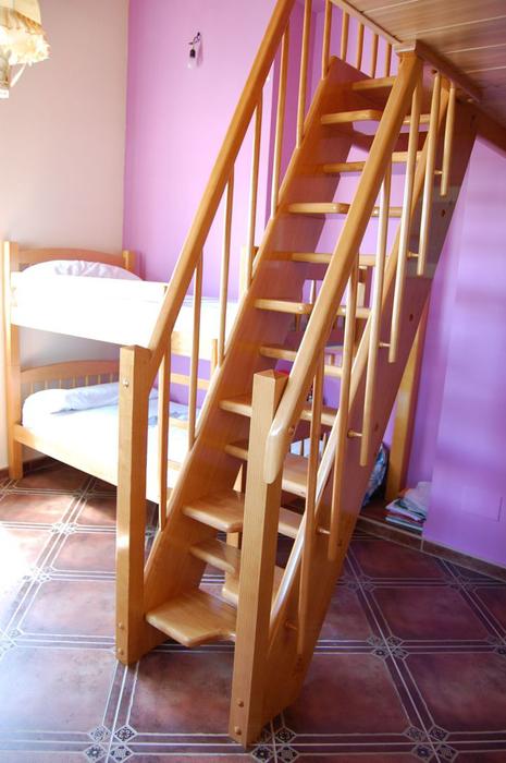 Scala bianca escaleras tipo barco o pelda os alternos - Peldanos de madera para escalera ...