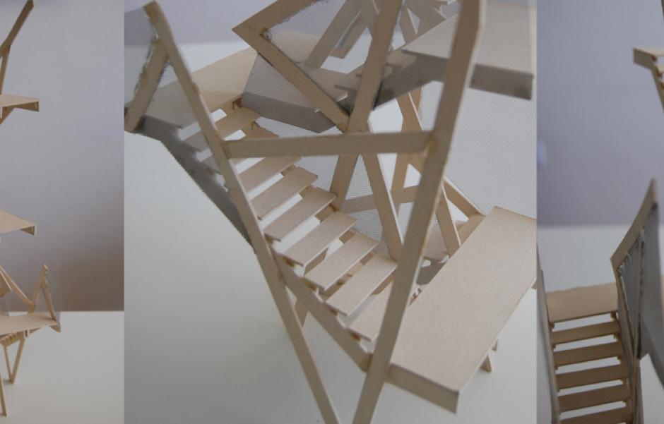 Toma de medidas donde va ubicada la escalera baranda for Medidas escaleras