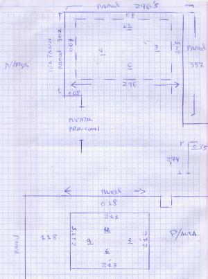 Medidas aproximadas para escaleras de madera