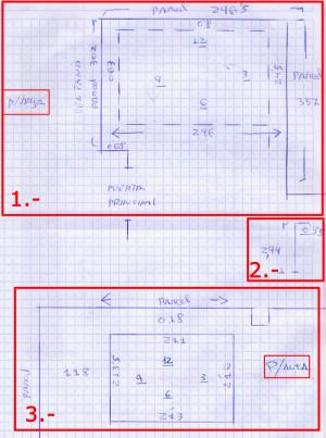 Medidas aproximadas de escaleras de madera