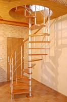 Escaleras, escalera de caracol