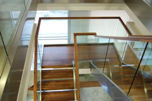 Escaleras, escalera de caero inoxidable