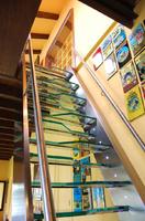 Escaleras, escalera de acero inoxidable