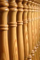 Barandas, baranda de madera