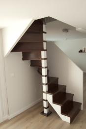 Escaleras de caracol